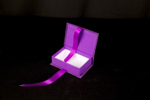 An elegant two choc box made for a luxury hotel