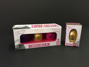 Chocolate Easter Egg Box
