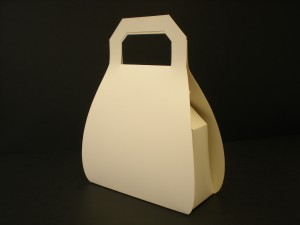 Presentation packaging, cardboard handbag