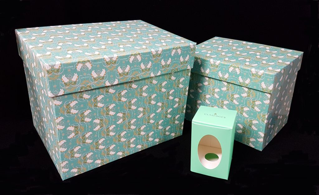 Packaging for chocolates and Easter eggs