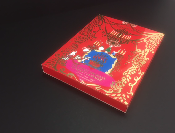 Advent calendar packaging for chocolatiers