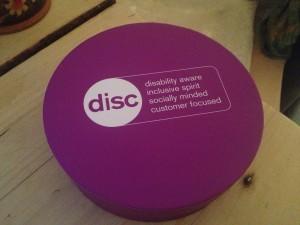 Remploy disc box