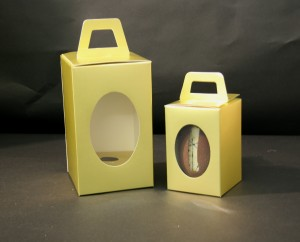 Folding Easter Egg boxes