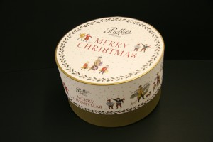 Christmas box created for Bettys