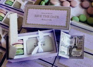 Save the date boxes