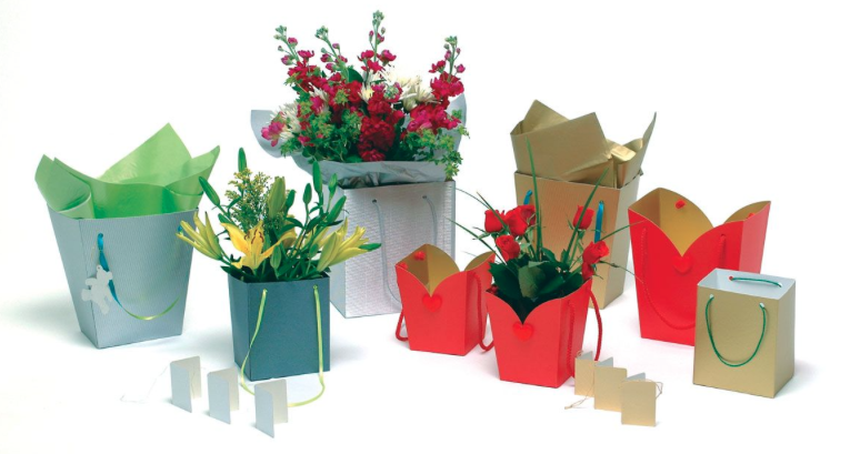Floral packaging - original and innovative.