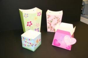 Gift bag flower packaging