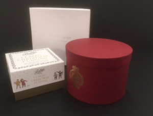 Circular boxes for presentation packaging
