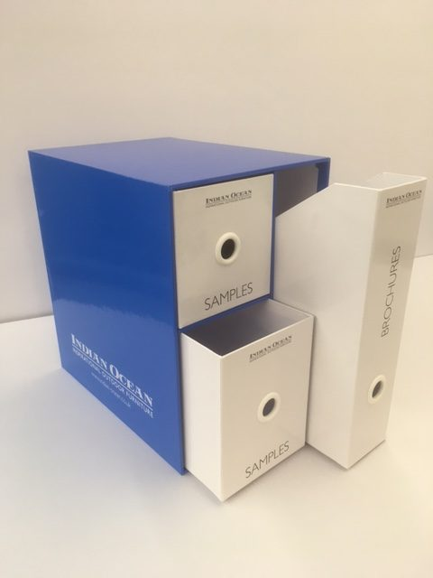 branded commercial slipcases