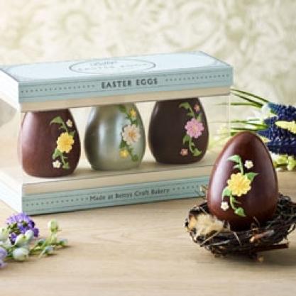 Bettys 'Trio of Eggs' box by GWD