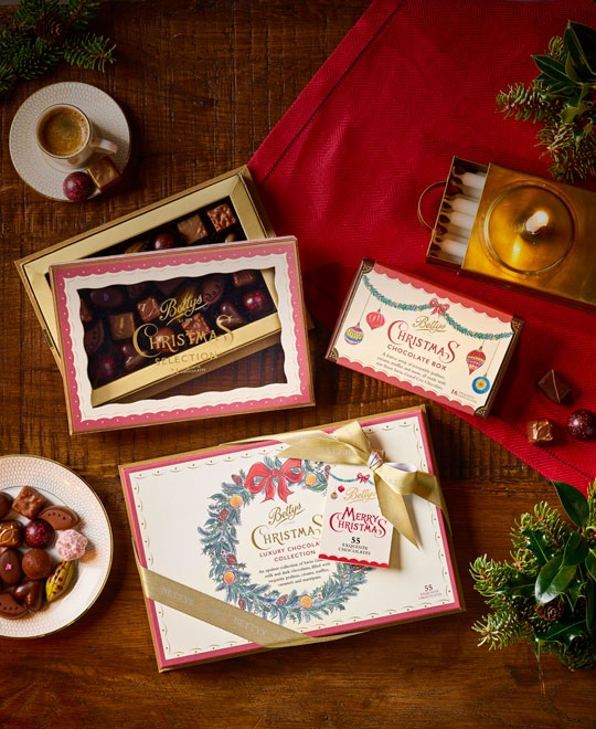 Presentation packaging for chocolatiers and chocolate boxes