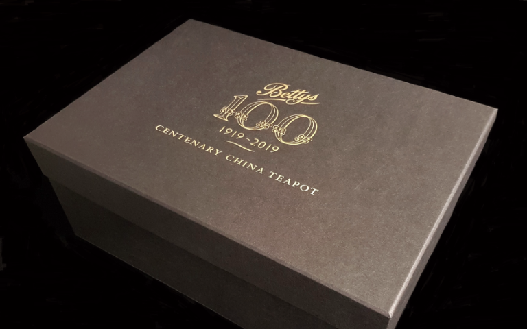 Bettys centenary packaging