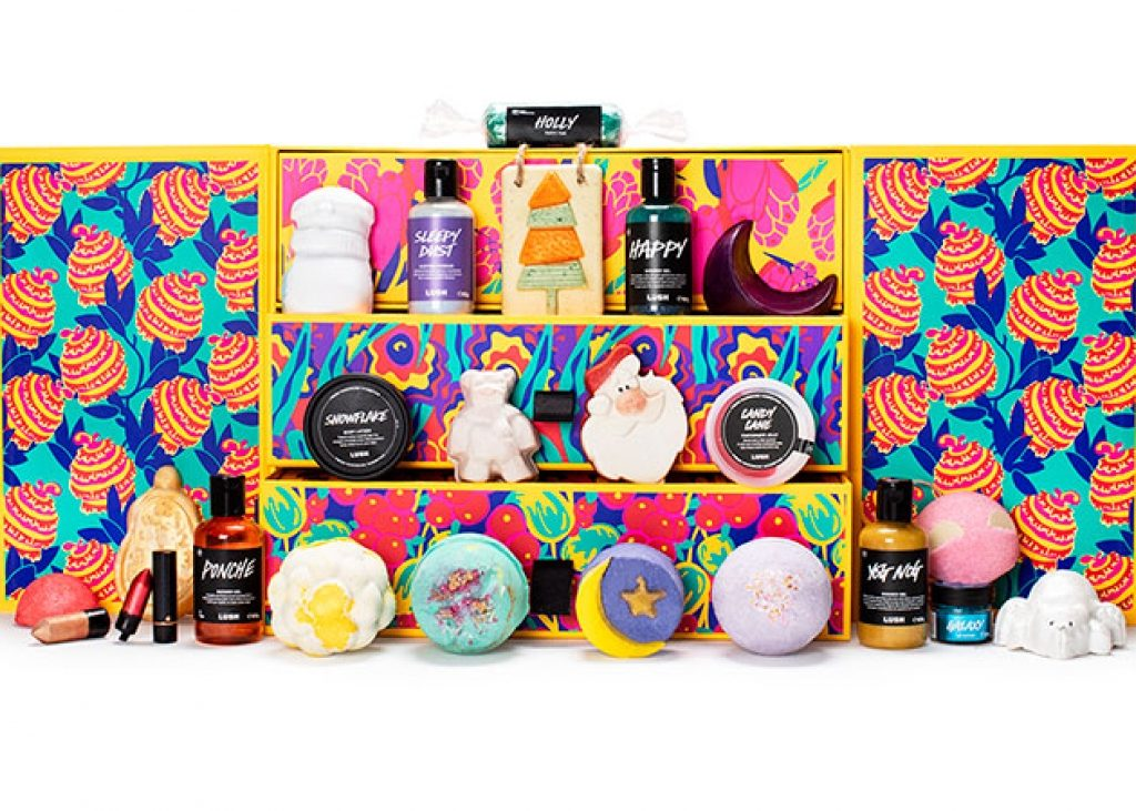 Presentation packaging for Lush