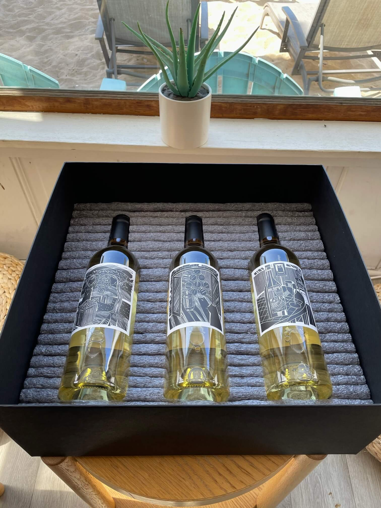 packaging for wine and spirits
